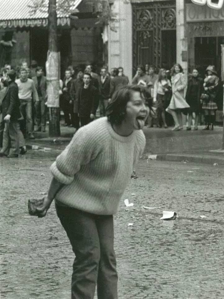 Mai 68, Paris .