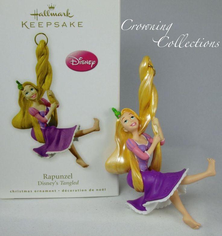 2010 Hallmark Rapunzel Ornament Disney Tangled Christmas Princess MIB  Keepsake