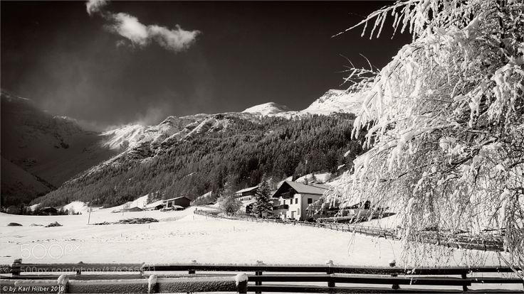 Obernberg am Brenner im Winter  DxO by karlhilber