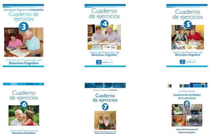 Cuadernos de Estimulación Cognitiva en casa -Orientacion Andujar