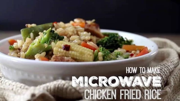 Microwave chicken risotto recipes