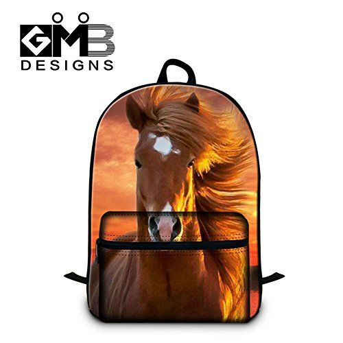Generic Horse School Backpack for Teen Boys Mens Fashion Laptop Computer BackPack - http://handbags.kindle-free-books.com/generic-horse-school-backpack-for-teen-boys-mens-fashion-laptop-computer-backpack/