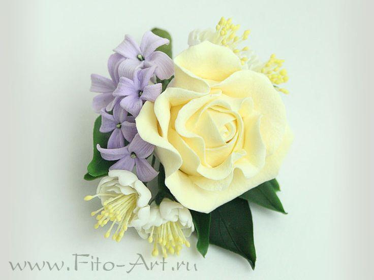 Свадьба : Свадебный комплект с сиренью и жасмином - Fito Art