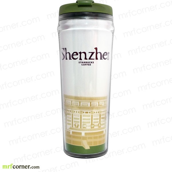S196 12oz Starbucks Shenzhen Global Icon City Tumbler