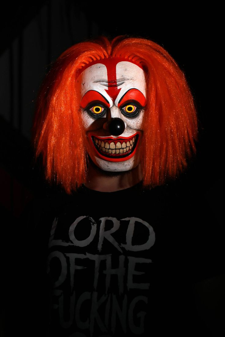 Clown mask. Halloween mask. Scary Clown. Clown costume