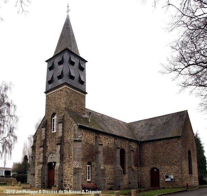 Église Notre-Dame, à Penguily.
