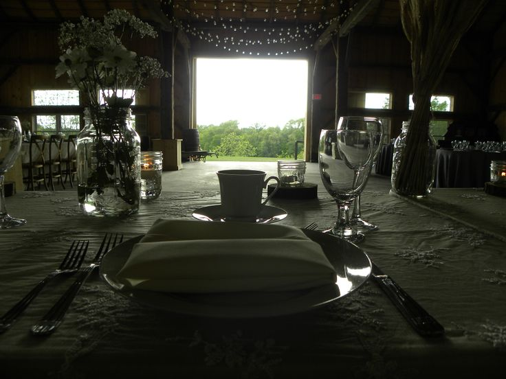 Bride and Groom's breathtaking view from head table