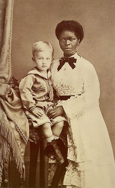 African American Living Room Apartment Decor: Eugen Keller And His Nanny In
