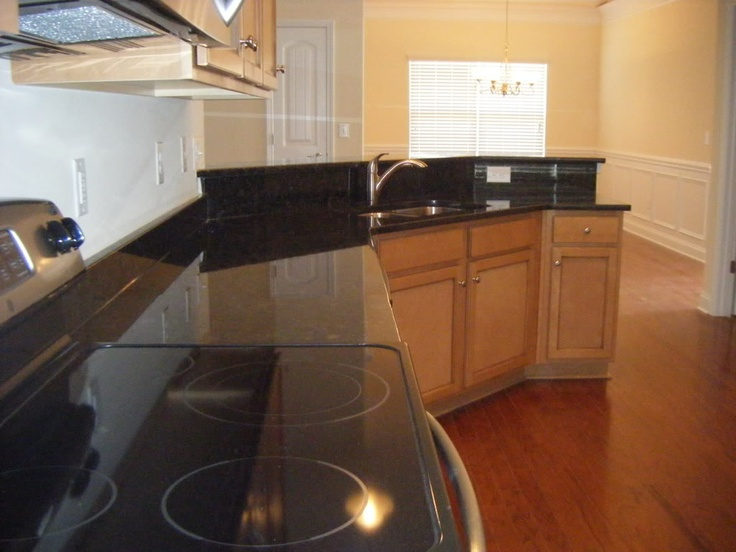 Granite Ooba Tooba With Hardwoods And Wood Cabinets