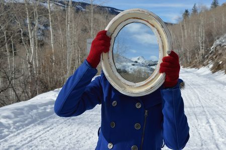 Mountains in the Mirror Photo by Marta Galambos -- National Geographic Your Shot