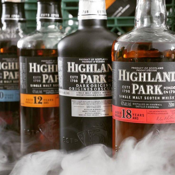 A line up of #highlandpark