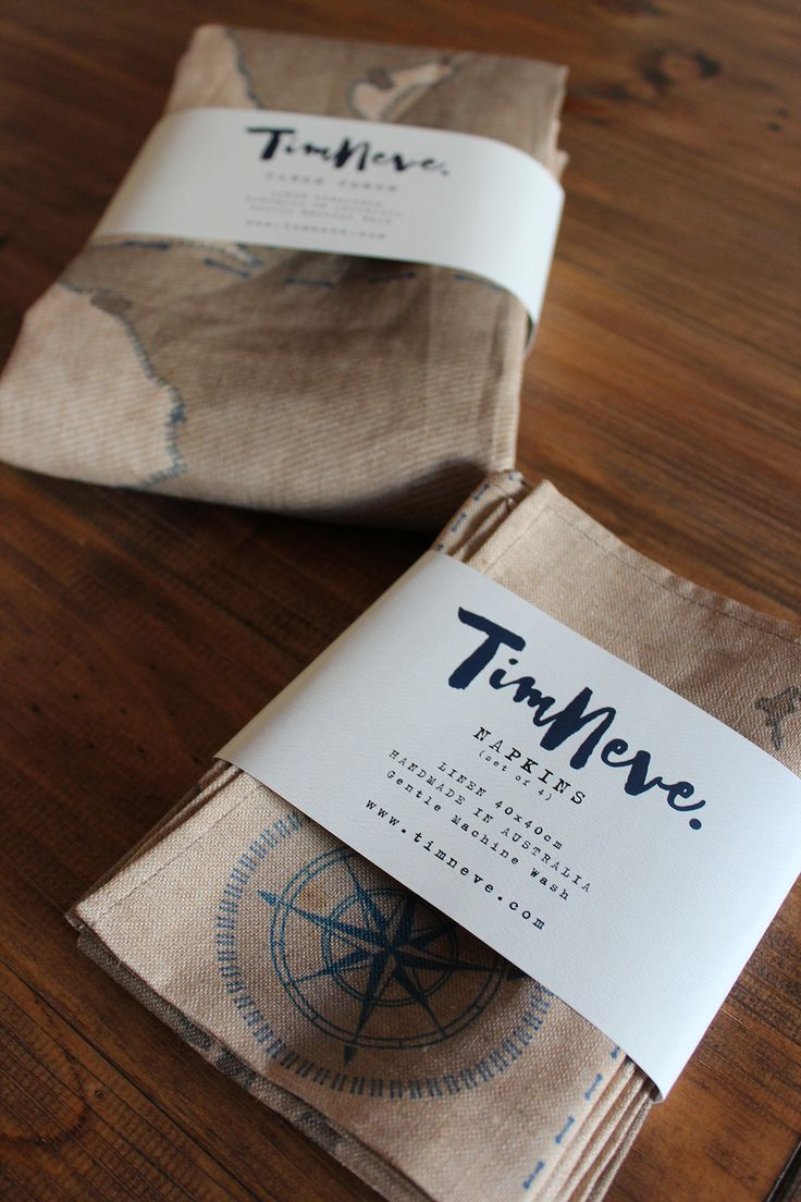 'Voyage' Tablecloth / Napkins: Introducing stylist Tim Neve's debut linen tableware designs.