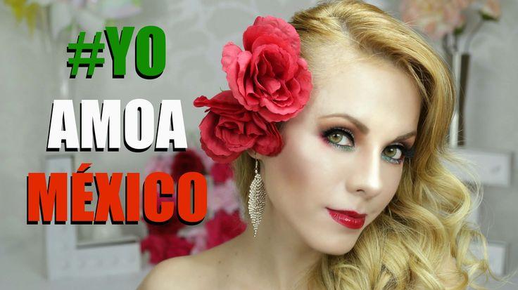 Nuestra Paola Herrera nos preparo un tutorial de maquillaje para celebrar a Mexico! mira el video y compartelo usando el #yoamoamexico http://yasmany.com/maquillaje-mexicano/?utm_campaign=coschedule&utm_source=pinterest&utm_medium=YasmanY.com&utm_content=Maquillaje%20Mexicano%20%23YoamoAmexico