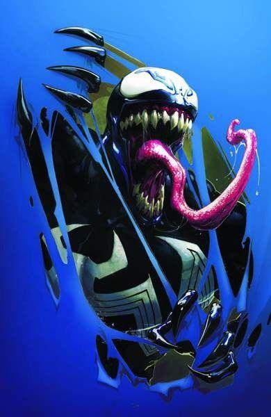 Venom Inc. Omega variant by Clayton Crain