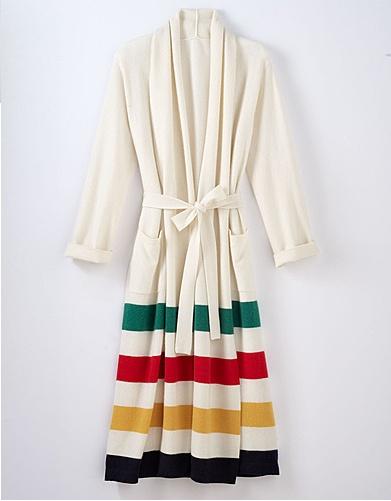 Hudson Bay cashmere robe