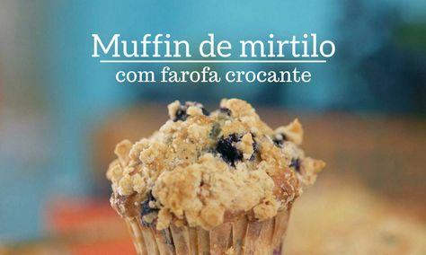 Raiza Costa ensina a fazer um muffin 'cabeçudão' de farofa crocante e servido com manteiga de maçã