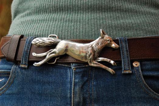 Silver fox buckle
