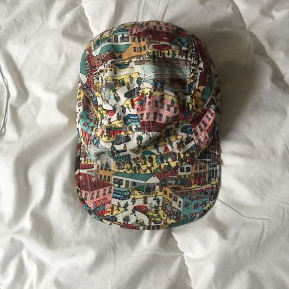 Where's Waldo hat (Waldo is circled on it) Urban Outfitters Accessories Hats