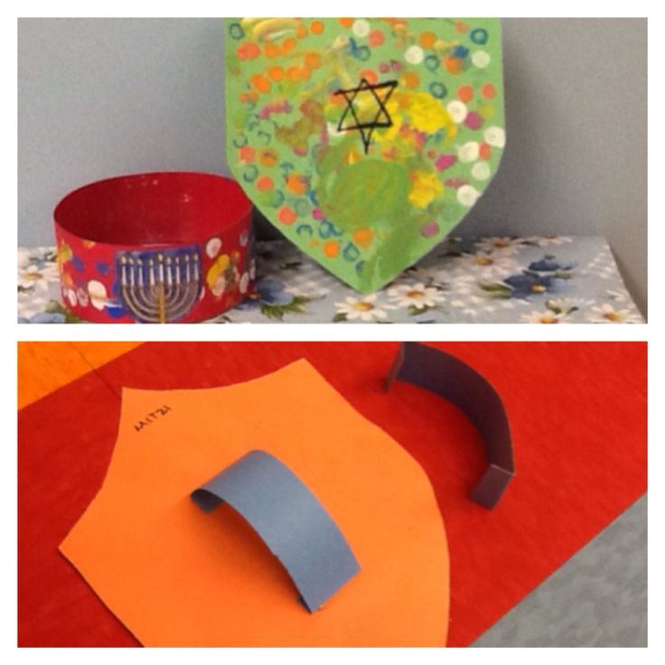 Preschool Chanukah Craft. Maccabees headband and shield. Decorate with your imagination.