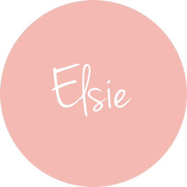 Elsie - loving all the baby girl names starting with E lately!