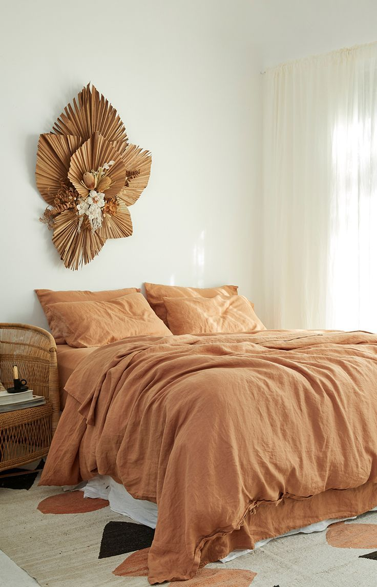 Ultra luxurious 100 pure French linen quilt cover in