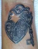 Photobucket   heart lock & key tattoo Pictures, heart lock & key tattoo Images, heart lock & key tattoo Photos