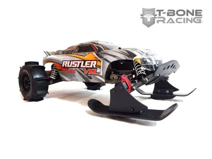 T-BONE RACING SNOW SKIS - TRAXXAS RUSTLER, VXL, XL5