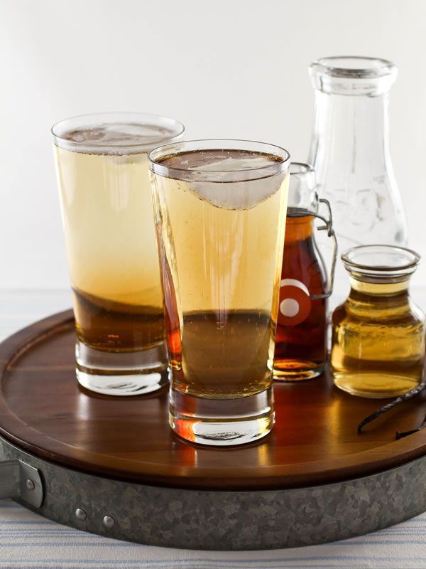 This sweet-sour, cream-soda-esque maple syrup drinking vinegar soda is uniquely refreshing.