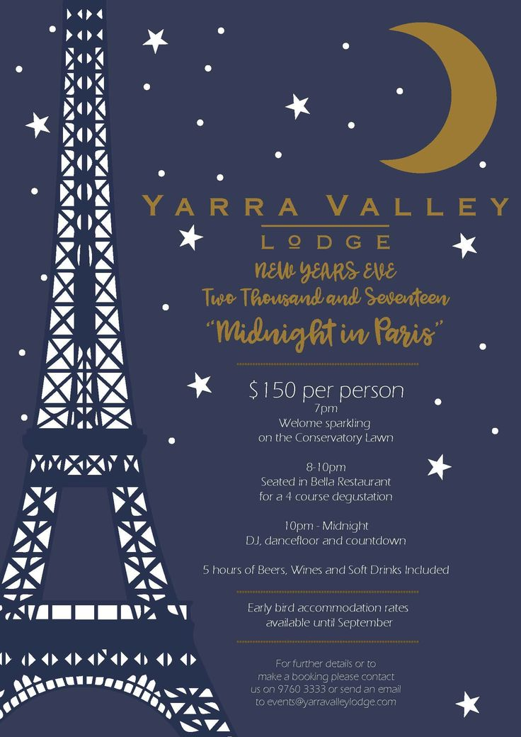 New Years Eve like no other!! Join us at Yarra Valley Lodge for a night of decadence.  Wine & Dine package (plus early bird accommodation discount if booked by September!).