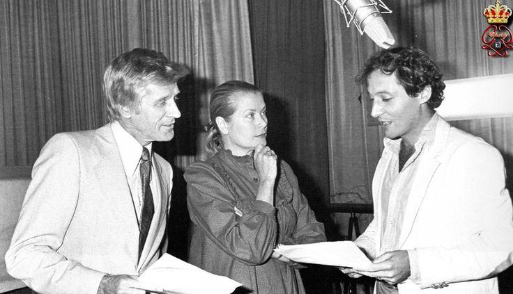 Principessa Grace sul set di Rearranged con Edward Meeks e sua moglie, Jacqueline e regista, Robert Dornhelm.