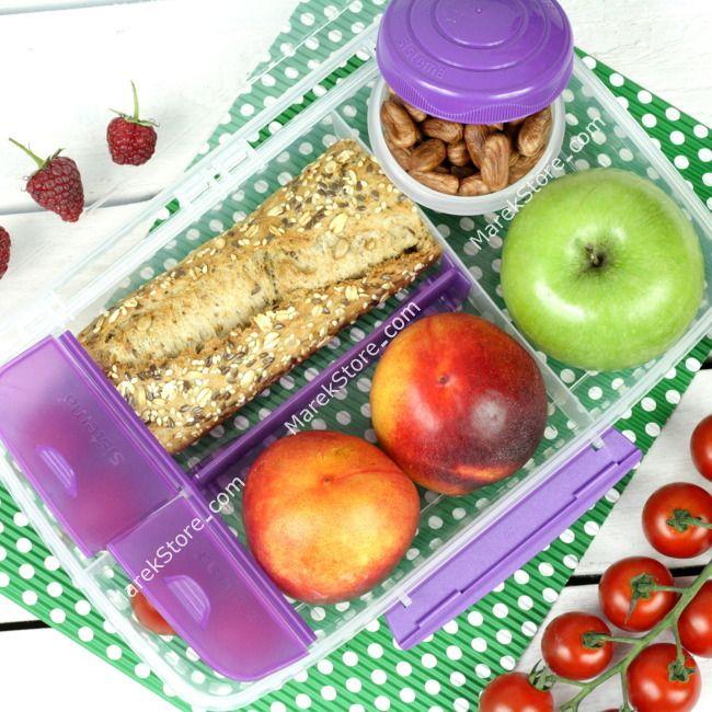 Pojemnik kuferek lunchbox na żywność i przekąski - 1,75 litra | SISTEMA TO GO BENTO BOX