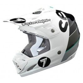 Seven - Casque Moto - Homme - Equipement Pilote - Bud Racing
