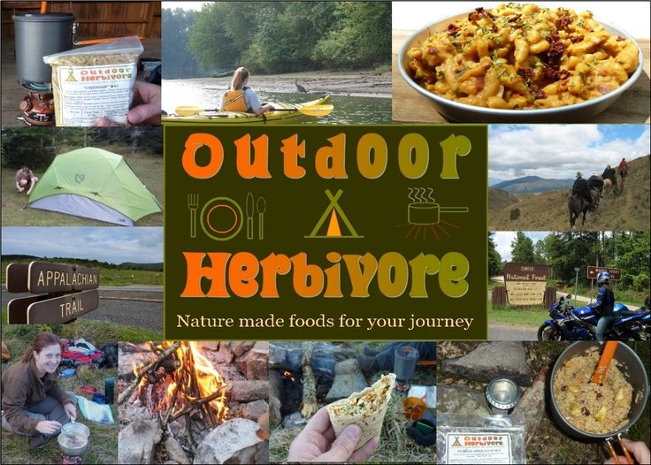 Vegan!  Outdoor Herbivore: Nature made foods for your backpacking or camping journey