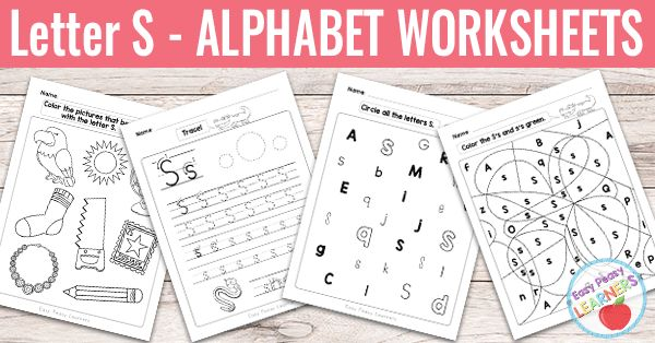 So we have come to S already. To help out with this one we naturally have a set of letter S worksheets as a part of our alphabet worksheets series to share with you. Letter S Worksheets With 8 different worksheets in this set we are sure your students will get plenty of exercise. They are also...Read More »
