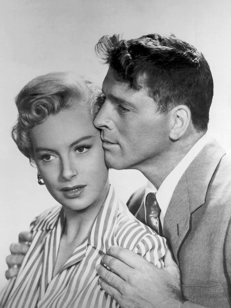 Burt Lancaster & Deborah Kerr publicity photo for From Here to Eternity (1953)