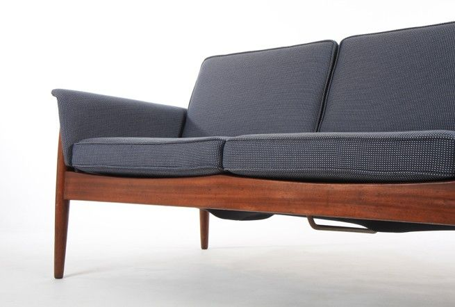 Grete Jalk Model 118 Sofa by Backhouse - Mr. Bigglesworthy Designer Vintage Furniture Gallery