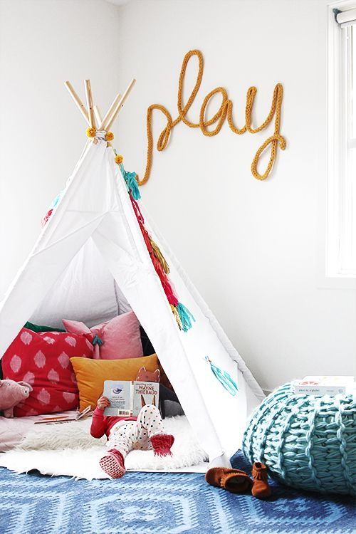 Playful Reading Nook | @thefauxmartha