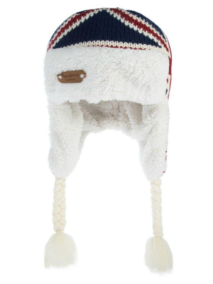 BERRETTO PEPE JEANS JUNIOR,  #Berretto stile #avviatore di Pepe Jeans #Junior da #bambino e da #ragazzo, lavorazione a #maglia con stampa Union Jack, fodera in #pelliccia #ecologica, #paraorecchie, #trecce, #logo in #pelle. #pepejeans #pepejeansjunior #pepejeanskids #pepejeansbaby  http://www.abbigliamento-bambini.eu/compra/berretto-avviatore-pepe-jeans-2973765