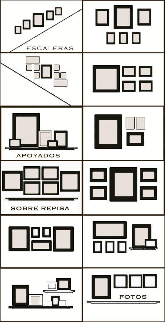 17 mejores ideas sobre colgar cuadros en pinterest for Marcos para cuadros a medida