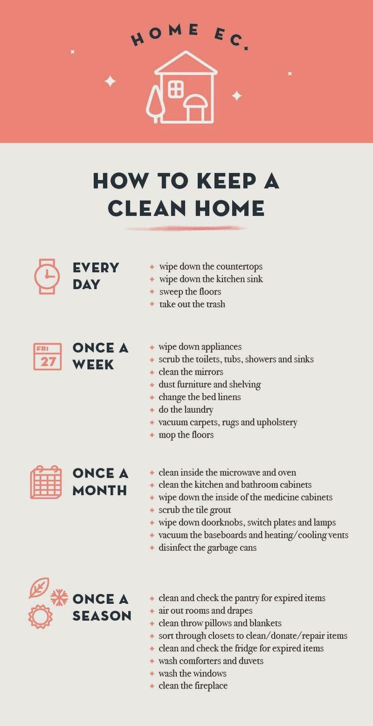 house cleaning schedule 138 best images about clean on cleaning 31078
