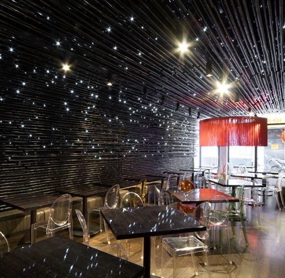 modern resturant design   Modern Restaurant Design: Gingerboy by Elenberg Fraser   Home Design ...