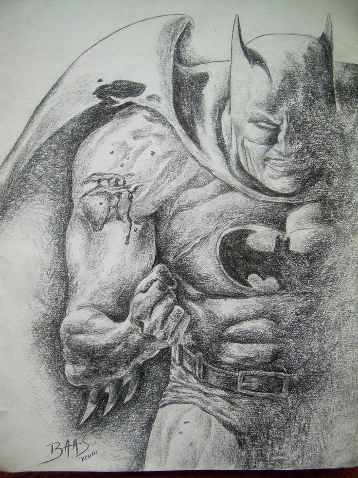 """""""Batman"""" Black Charcoal -en carboncillo"""