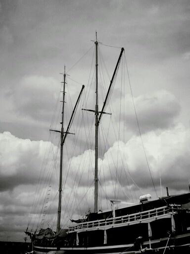 Semarang, Tanjung Emas Port_traditional sailing boat