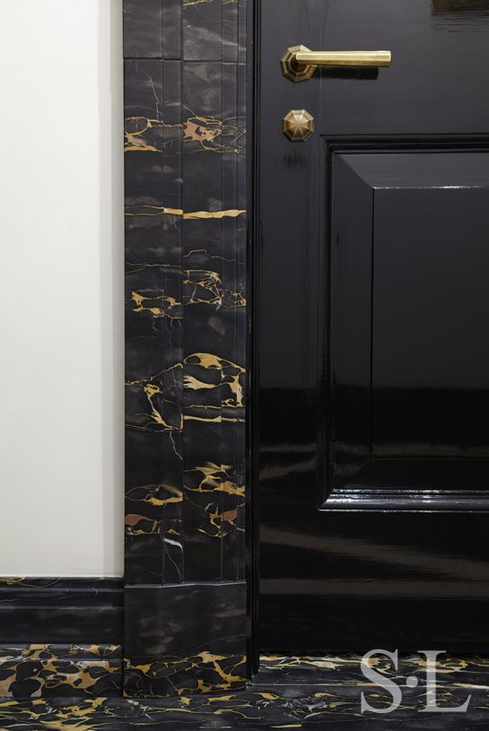 Residences - Door Detail 1 - Suzanne Lovell Inc.