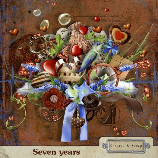 Seven years by Black Lady Designs