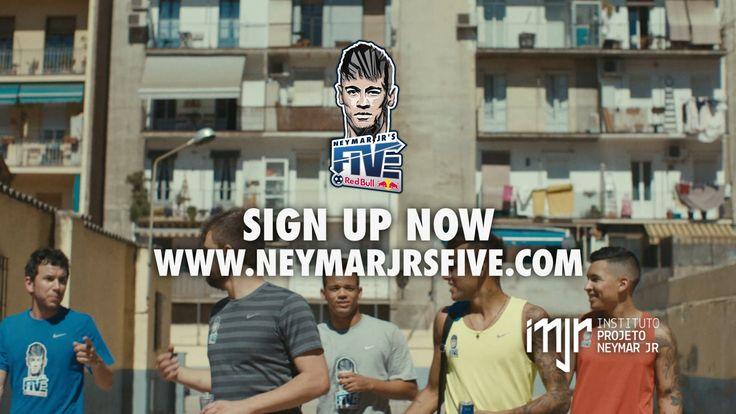 Red Bull - Neymar Jr's Five on Vimeo