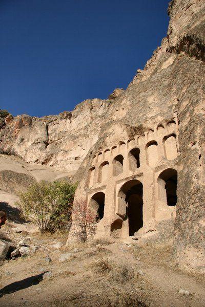 Temple in Cappadocia, Turkey