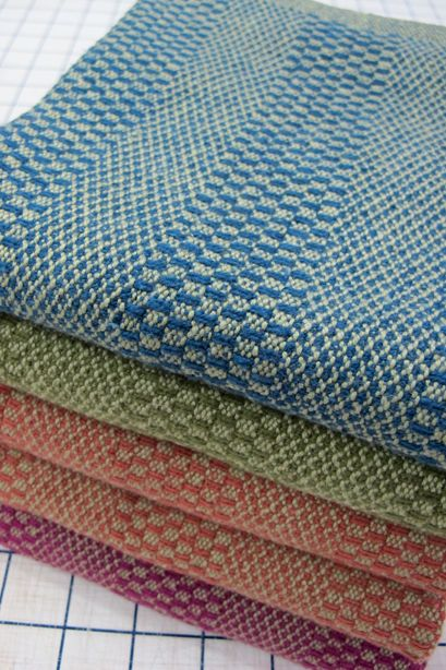 Keep It Simple Towels from Handwoven's Top Ten Towels on Four Shafts