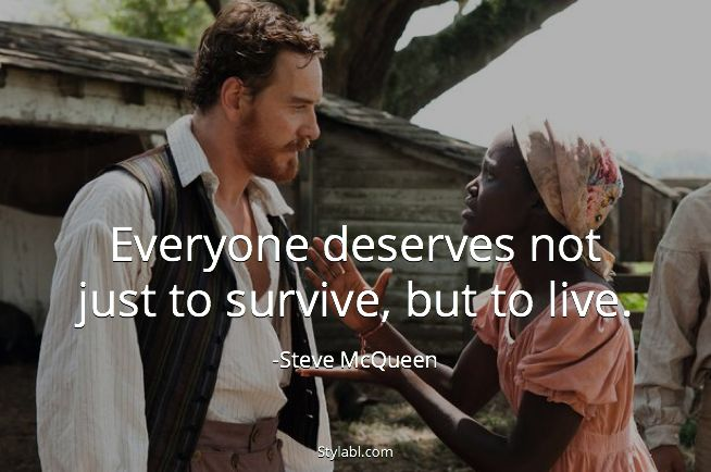 life is about living not simply surviving.