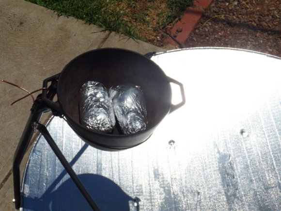 How to Make a Solar Cooker from a Satellite Dish | Mom with a Prep